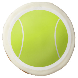 Fun Tennis Ball Cookies for Tennis Party / Banquet