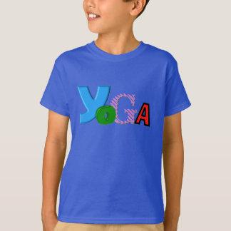 Fun Text Design - Kids Yoga Clothes T-Shirt