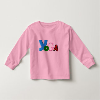 Fun Text Design - Yoga Clothes for Toddlers Toddler T-shirt