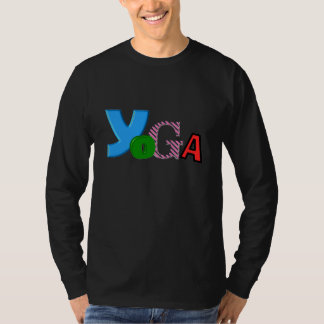 Fun Text Design - Yoga Long Sleeve Shirts for Men
