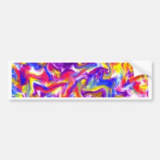 Fun Tie Dye Bumper Sticker
