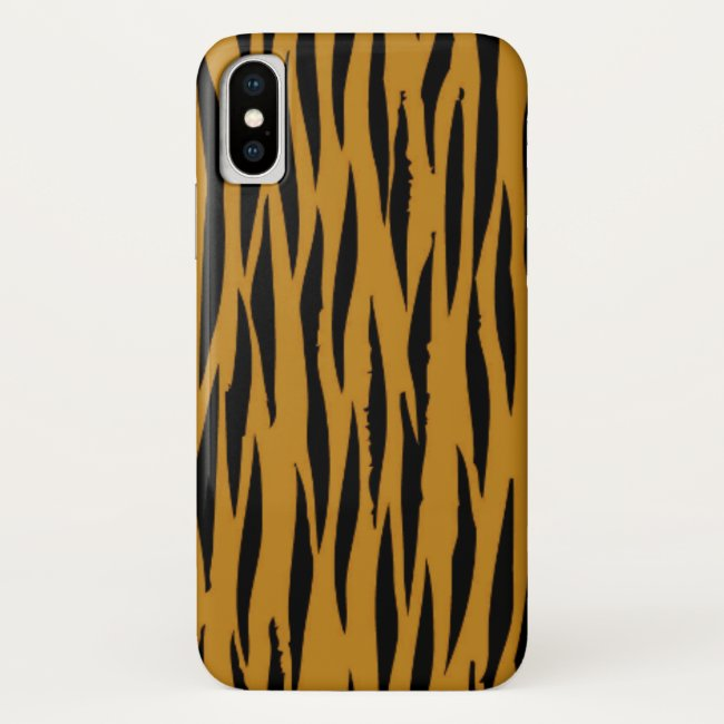 Fun Tigerprint iPhone case