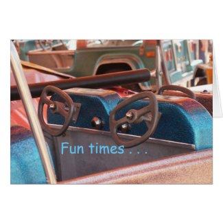 Fun times card