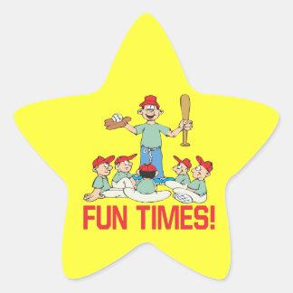 Fun Times Star Sticker