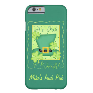 Fun to Be Irish Business Promotion Personalized Barely There iPhone 6 Case