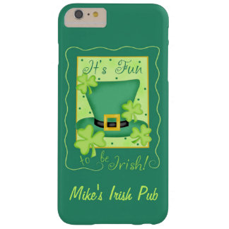 Fun to Be Irish Business Promotion Personalized Barely There iPhone 6 Plus Case