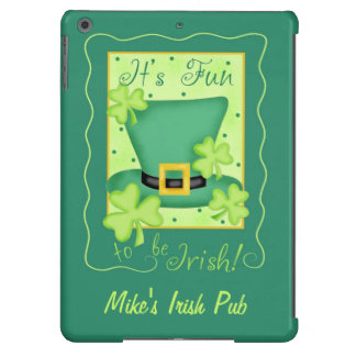 Fun to Be Irish Business Promotion Personalized iPad Air Cases