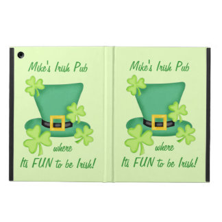 Fun to Be Irish Business Promotion Personalized iPad Air Covers