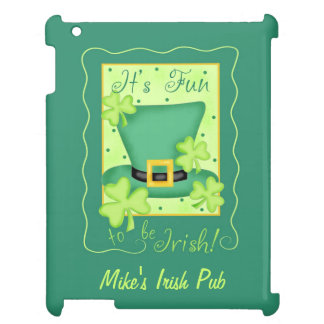 Fun to Be Irish Business Promotion Personalized iPad Cases