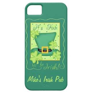 Fun to Be Irish Business Promotion Personalized iPhone SE/5/5s Case