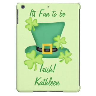 Fun to be Irish St. Patrick's Name Personalized iPad Air Cases