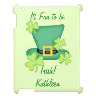 Fun to be Irish St. Patrick's Name Personalized Cover For The iPad