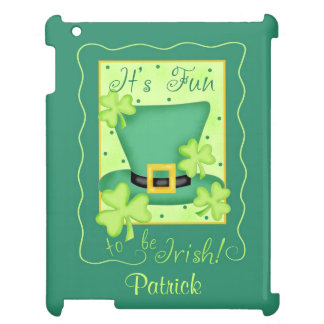 Fun to Be Irish St. Patrick's Name Personalized Case For The iPad 2 3 4