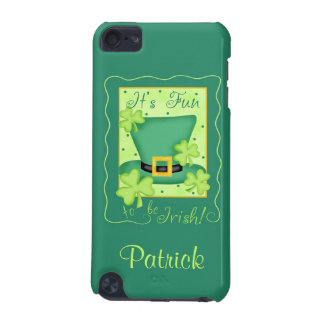 Fun to be Irish St. Patrick's Name Personalized iPod Touch (5th Generation) Case