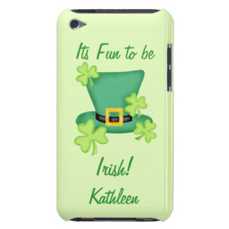 Fun to be Irish St. Patrick's Name Personalized iPod Touch Case