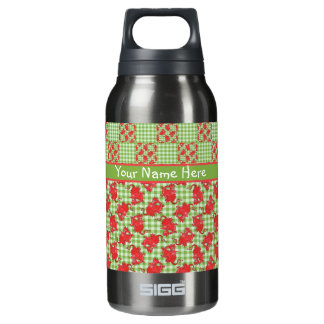 Fun to Personalize: Cute Red Dragons Insulated Water Bottle