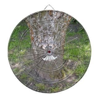 Fun Tree Face Dartboard With Darts