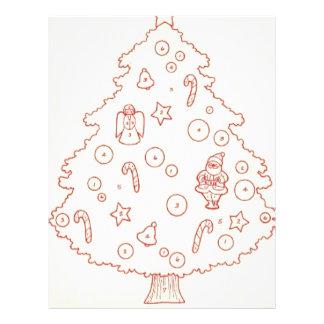 fun tree personalized letterhead