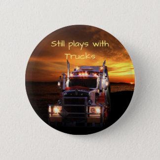 Fun Truck Drivers Pinback Button