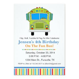 party bus invitations  announcements  zazzle, party invitations