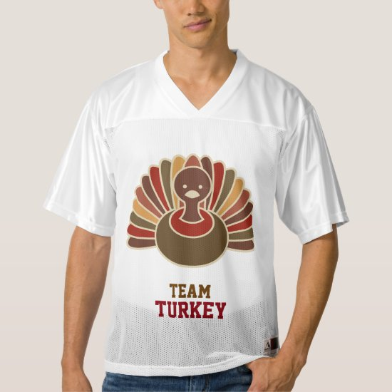 Fun Turkey Football Tournament Jersey