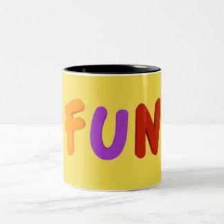 FUN Two-Tone COFFEE MUG