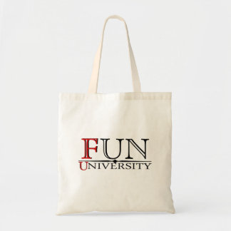 Fun University hidden meaning reusable bag