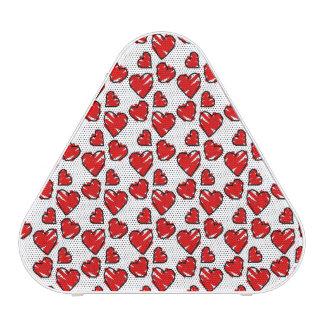 Fun Valentine Heart Scribbles Speaker