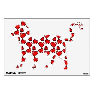 Fun Valrentine Heart Scribbles Room Stickers