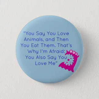 Fun Vegan Button