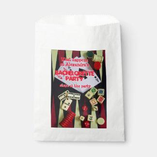 Fun Vegas style gambling bachelorette party Favor Bag