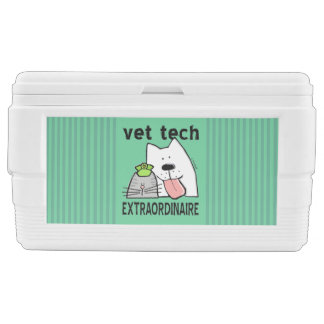 Fun Vet Tech Extraordinaire Cooler