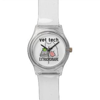 Fun Vet Tech Extraordinaire Wrist Watch