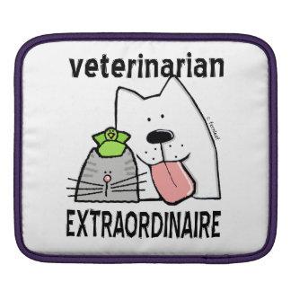 Fun Veterinarian Extraordinaire Sleeves For iPads
