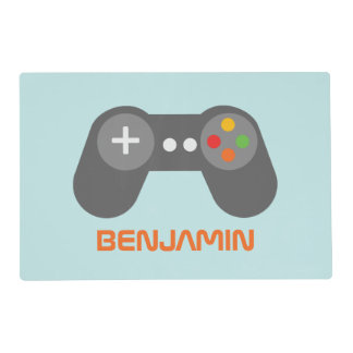 Fun Video Game Controller Kids Placemat