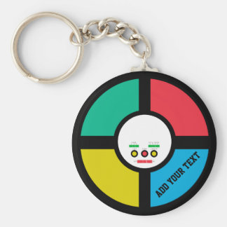 Fun Vintage 80s Retro Game Key Chain
