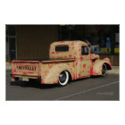 FUN VINTAGE CHEVY TRUCK POSTER