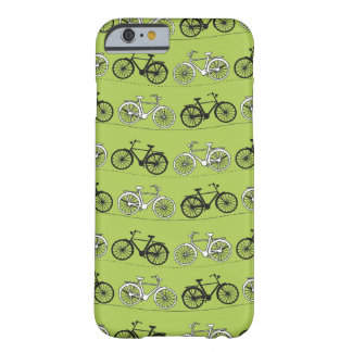 Fun Vintage Green Bicycles iPhone 6 Case