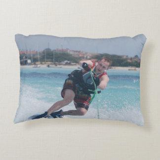 Fun Wakeboarding Decorative Pillow