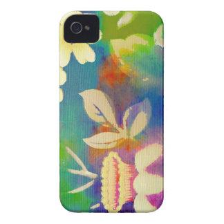 Fun Watercolor Flowera iPhone 4 Case-Mate Case