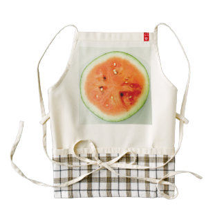 Fun Watermelon 4Gillian Zazzle HEART Apron