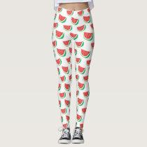 Fun Watermelon Pattern all over printed legging