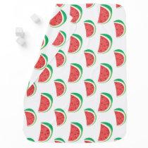 Fun Watermelon Pattern Baby Blanket