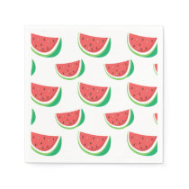 Fun Watermelon Pattern Napkin