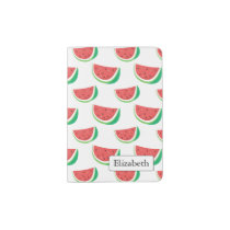 Fun Watermelon Pattern Passport Holder