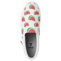 Fun Watermelon Pattern Slip-On Sneakers