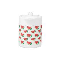 Fun Watermelon Pattern Teapot