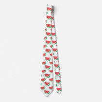 Fun Watermelon Pattern Tie