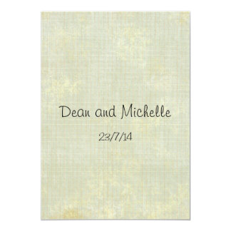 "Fun Wedding Advice Comment Cards 5"" X 7"" Invitation Card"
