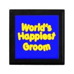 Fun Weddings & Happy Grooms  Worlds Happiest Groom Keepsake Boxes